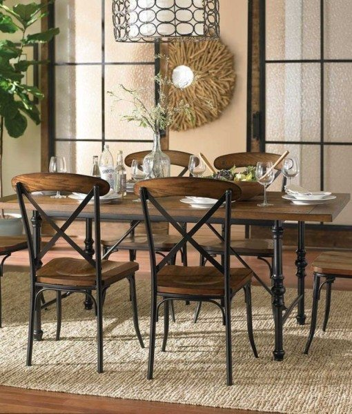 Home / Shop / Dining Room / 7 Pc Dinette Set / 7pc Standard Height